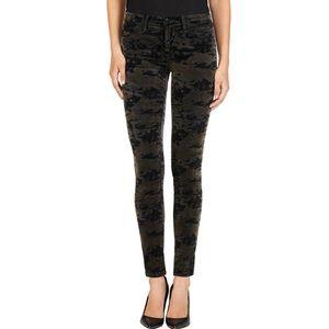 J Brand Velvet Camo 'Super Skinny' Jeans